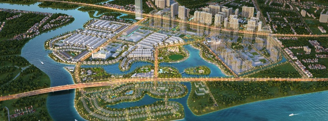 Vinhomes Grand Park nằm tại vùng lõi phát triển của thành phố Thủ Đức tương lai. Ảnh phối cảnh.